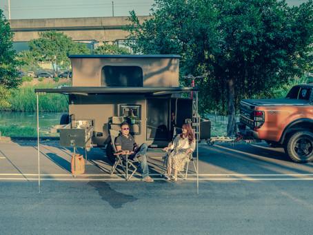 「可樂屋露營拖車」──擁抱山海 拖著露營拖車旅行臺灣