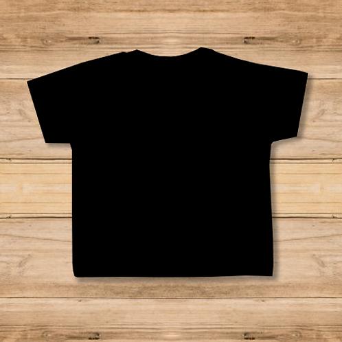 Camiseta Niño Negra 1 Cara