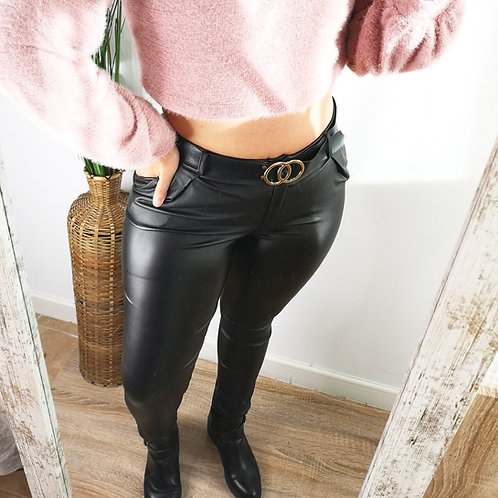 Pantalón poli piel