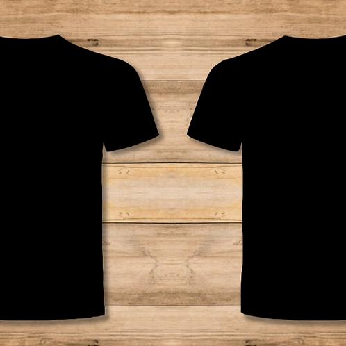 Camiseta Hombre Negra 2 Caras