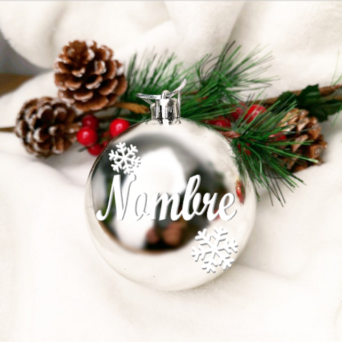 Bola de Navidad Plata