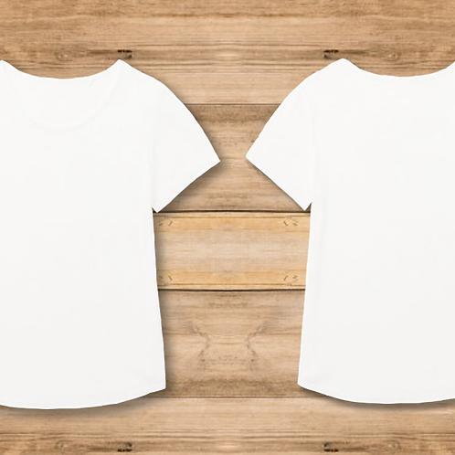 Camiseta Mujer Blanca 2 Caras