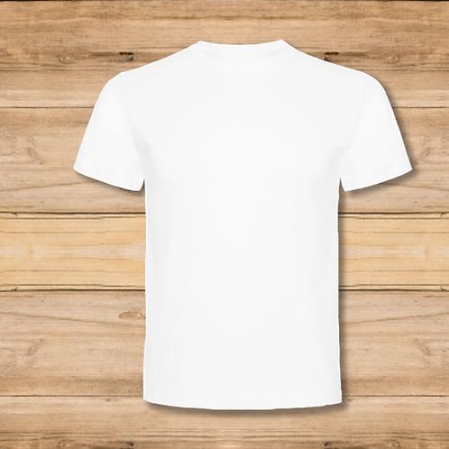 Camiseta Hombre Blanca 1 Cara