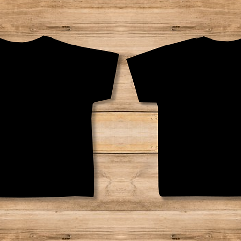 Camiseta Niño Negra 2 Caras