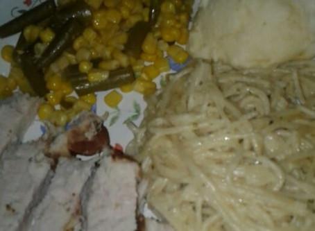 Baked Chicken Dinner