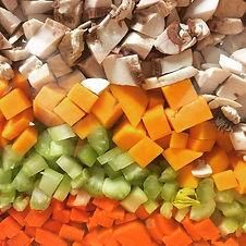 Soup prep!  #veggies #soup #homemade #pr