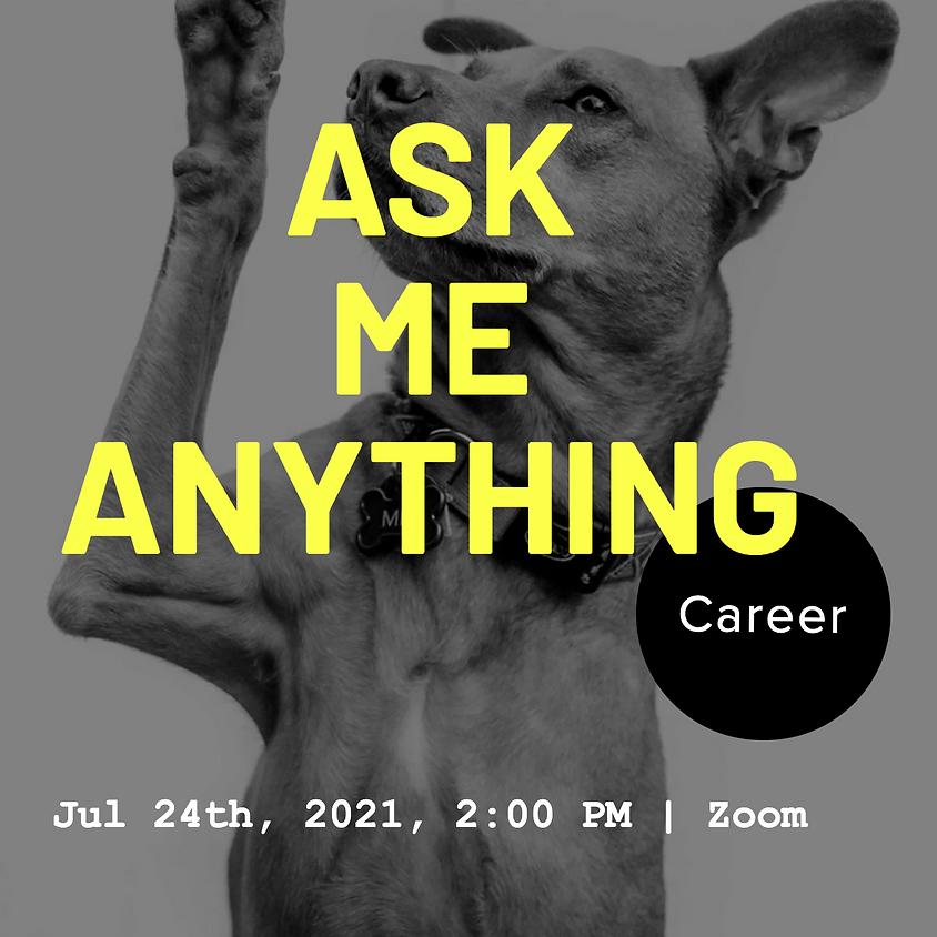 [개발자 소그룹] Ask Me Anything: Career Talk