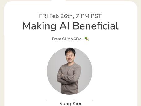 2월 개발자 모임: Make AI Beneficial