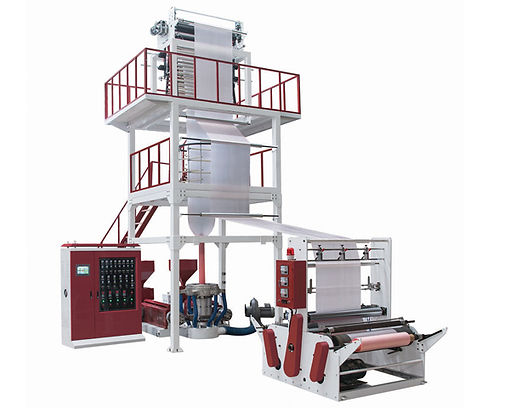 SJ-GS Multi-Layer Co-Extrusion Film Blowing Machine With IBC System