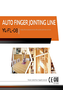 AUTO FINGER JOINTING LINE YL-FL-08
