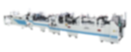 PK-650/850/1100 全自动彩盒、纸板糊盒机