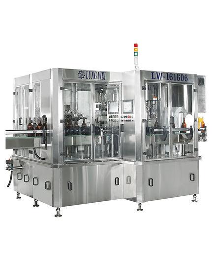 LW-161606 自動迴轉式洗瓶充填封蓋機
