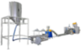 ABS、PP、PE Waste Plastic Recycling Making Machine