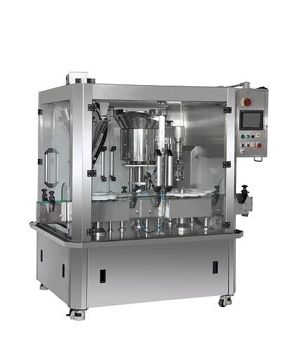 LW-1PF1S Automatic Powder Filling and Capping machine