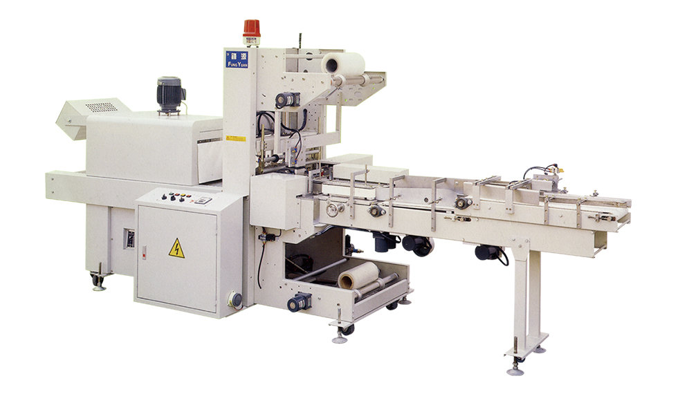 PVC & OPP Tapes Accounting Grouping Sealing and Shrink Packaging Machining Machine