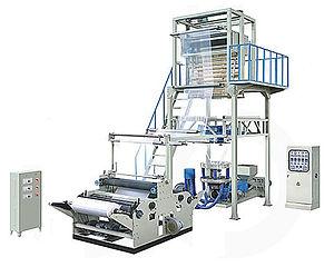SJB Rotary Die PE Film Blowing Machine