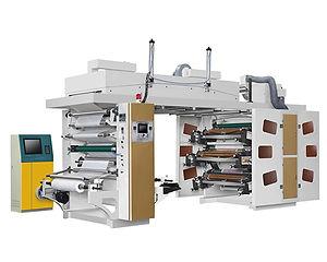 BCI61000 Central Drum CI Flexo Printing Machine