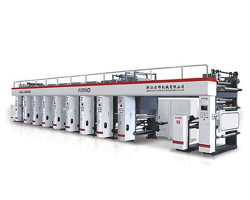 AYJ-B High Speed Five Motor Rotogravure Printing Machine
