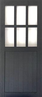 PVC Foam Barn Door (Window)