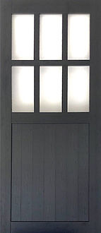 PVC Foam Barn Door (Window)
