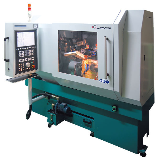 EROSION MACHINE FOR MACHINING THE TOOTH TOP OF PCD-TIPPED CIRCULAR SAW BLADES