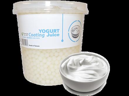 Yogurt Coating Juice