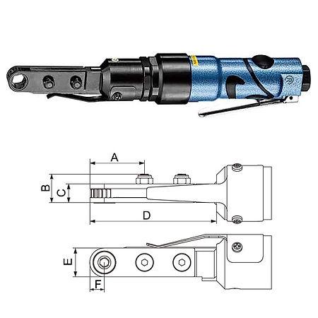 氣動棘輪扳手 PRW-812LS 系列