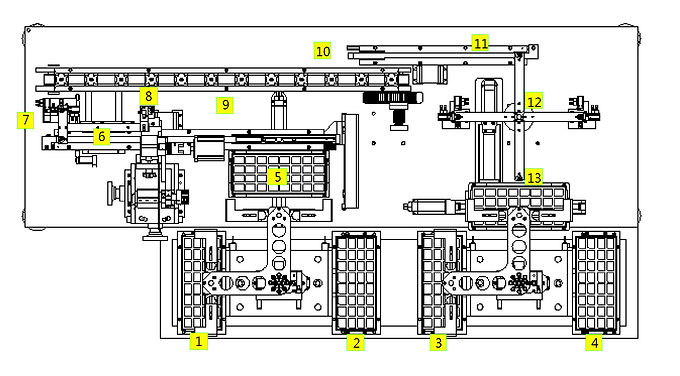 SP102 TRAY IN TRAY OUT LABELING MACHINE