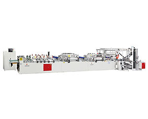 SBF600 Three Side Sealing Pouch Bag Making Machine