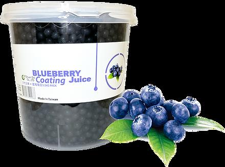 Blueberry Coating Juice