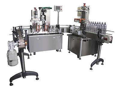 自動充填機 & 自動鎖蓋機 (U型線) FL-041 & CP-150