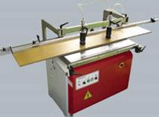 The boring unit can be changed from horizontal to vertical drilling by pneumatic setting