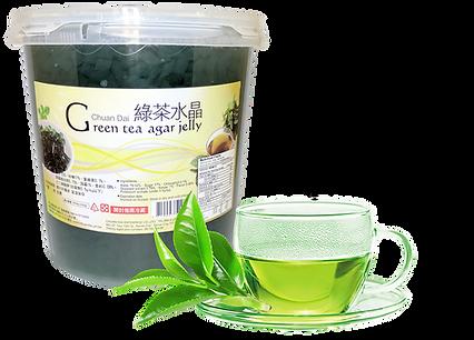 Green Tea Agar Jelly