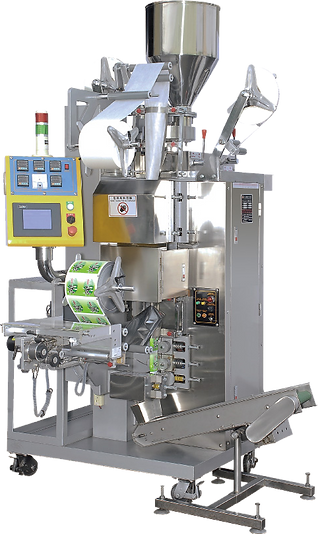 Automatic Quantitative Tea-bag, With Cotton String & A Tag, Double Wrapped Packaging Machine