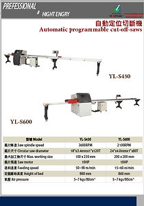 AUTOMATIC PROGRAMMABLE CUT-OFF-SAWS