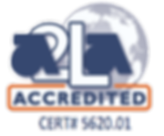 Accredited Laboratory by A2LA