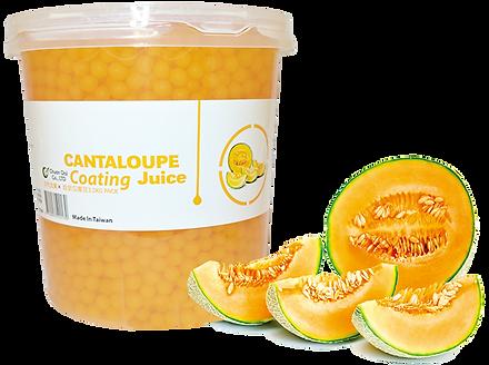 Cantaloupe Coating Juice
