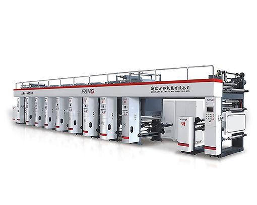 AYJ-C High Speed Three Motor Rotogravure Printing Machine