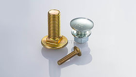 Carriage Bolt (Round Head Square Neck Bolt, Coach Bolt)