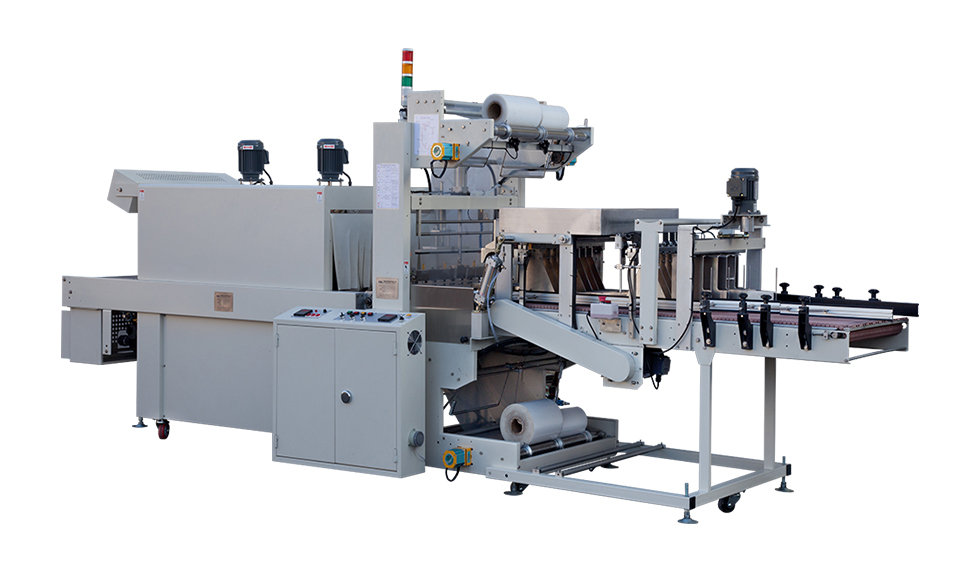Multiple Shrink Packaging Machine (Printed or Transparent Shrinkable Film is Capable)