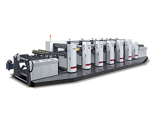 RZJ-1000A High Speed Flexographic Printing Machine