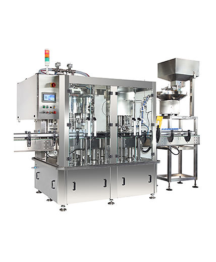 LW-1004 Automatic Rotary Filling & Capping Machine