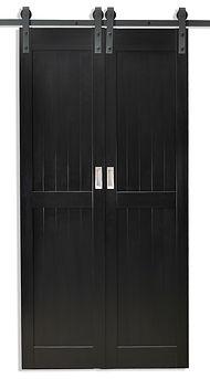PVC Double Foam Barn Door