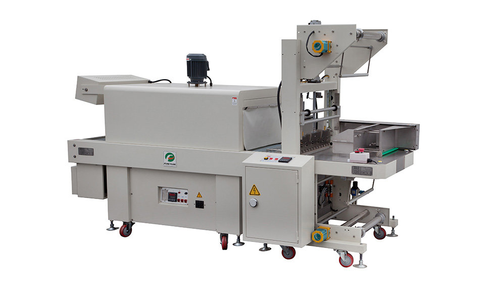 Semi - Auto Two - Side Sealing And Shrink Packaging Machine