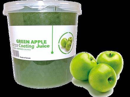 Green Apple Coating Juice