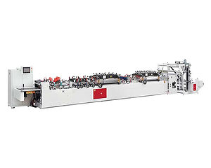 SBFS600 Four Side Sealing Pouch Bag Making Machine