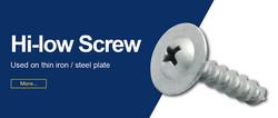 Hi-low Screw