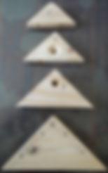 自動氣壓退料三角連接木 鑽孔專用機