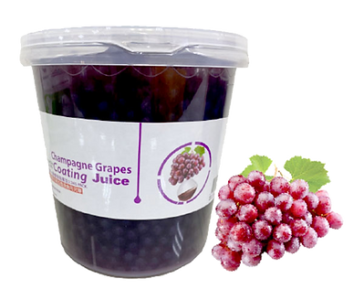 Grapes Coating Juice