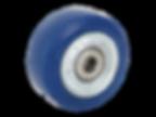 08K-b 藍色橡膠胎